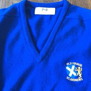 Pringle Made in Scotland Sweater St Andrews Golf